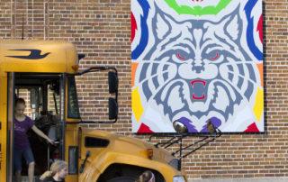 Gresham School Mascot Barn Quilt