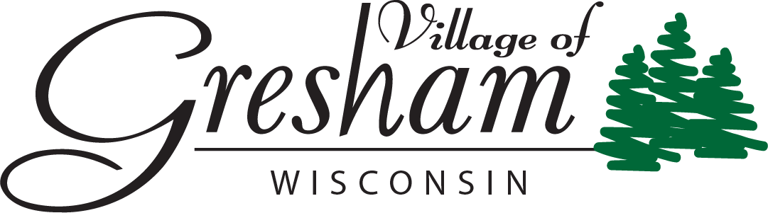 Village of Gresham Mobile Logo