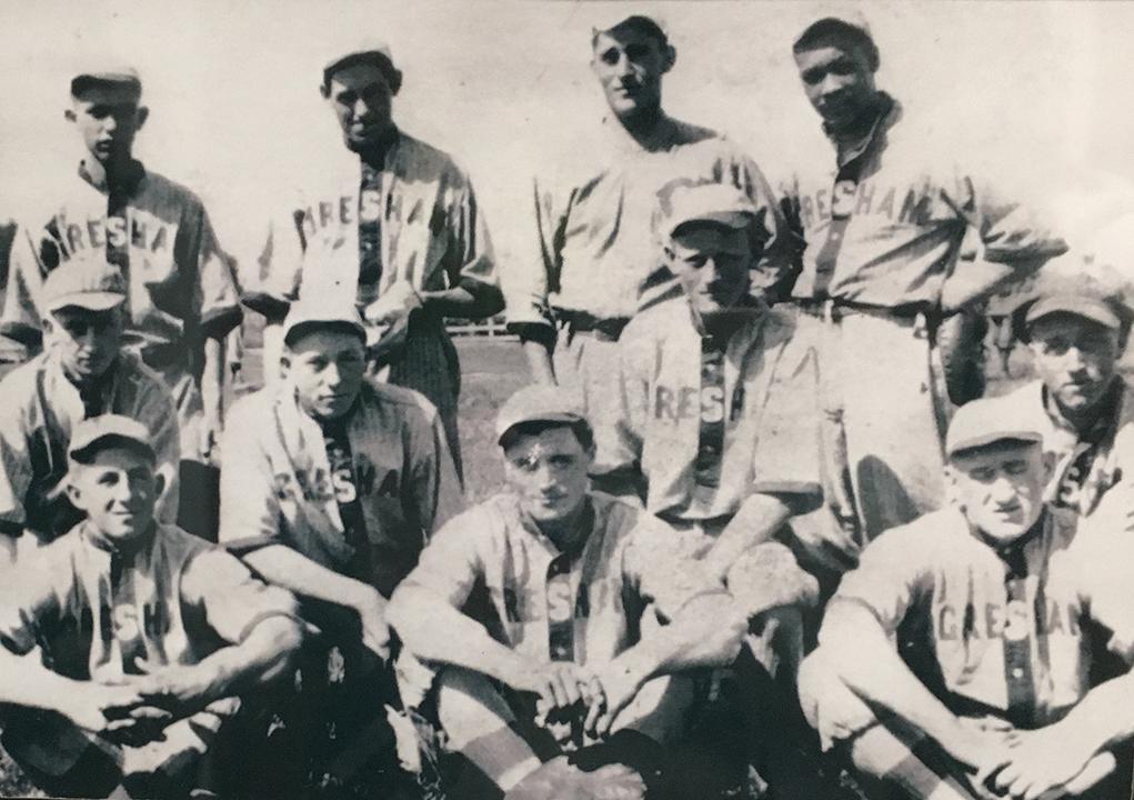 Gresham Baseball Team