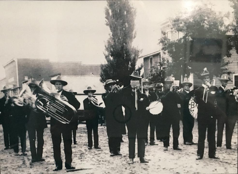 Gresham Military Band 1908